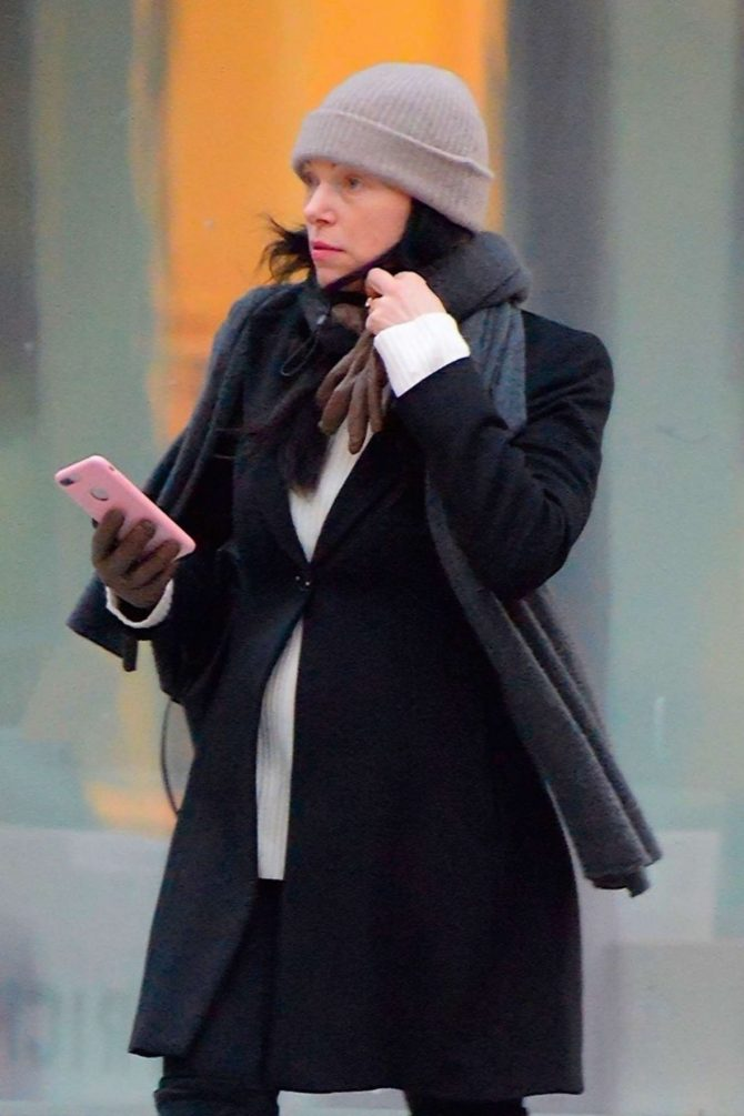 Laura Prepon – Out and about in New York
