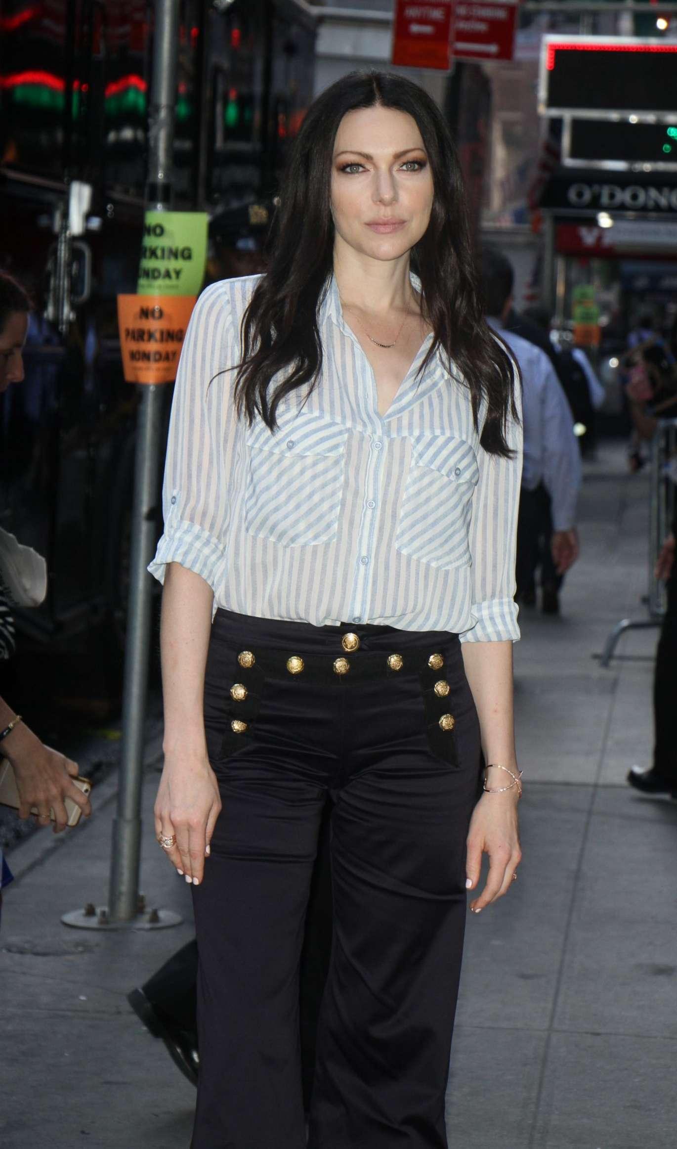 Good Morning America Latest News : Laura prepon visits good morning america in new york