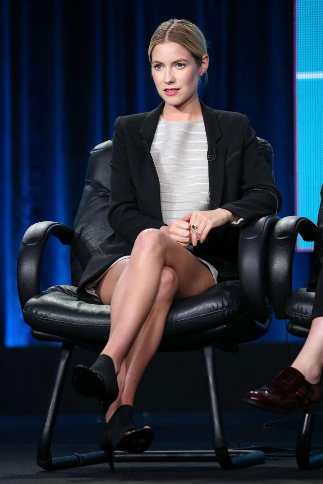"Laura Ramsey - ""Hindsight"" Panel TCA Press Tour in Pasadena"