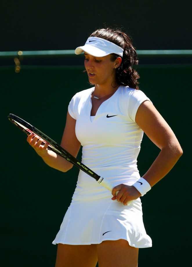 Laura Robson - Wimbledon Tennis Championships 2015 in London
