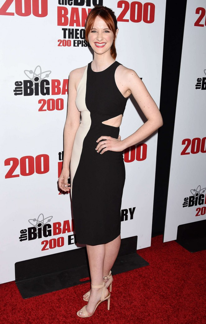 Laura Spencer - 'The Big Bang Theory' 200th Episode Celebration in LA
