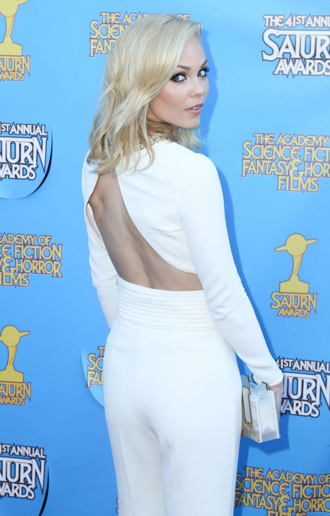 Laura Vandervoort - 2015 Saturn Awards in Burbank