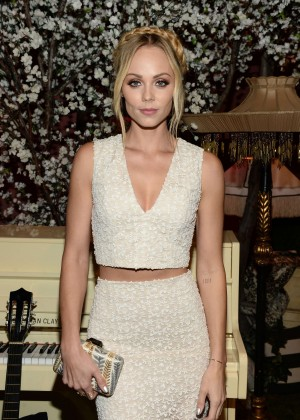 Laura Vandervoort - Alice + Olivia Fashion Show 2016 in Los Angeles