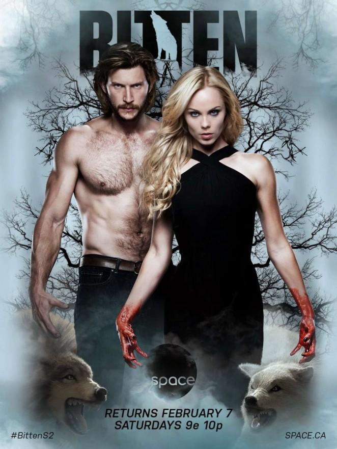 Laura Vandervoort - Bitten Season 2 New Poster
