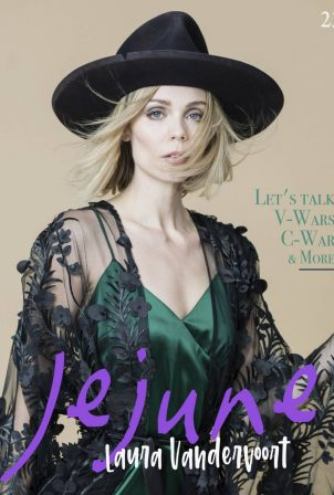 Laura Vandervoort - Jejune Magazine (May 2020 issue)