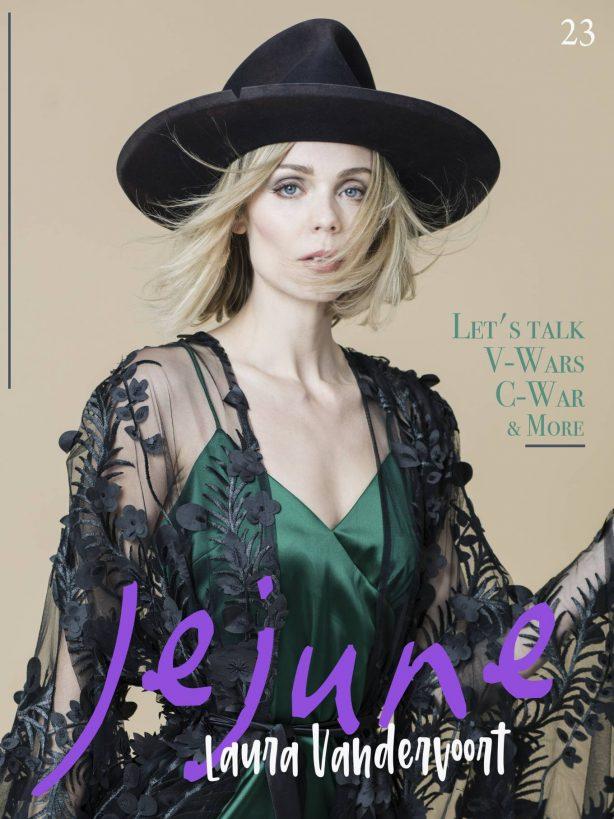Laura Vandervoort - Jejune Magazine (May 2020)