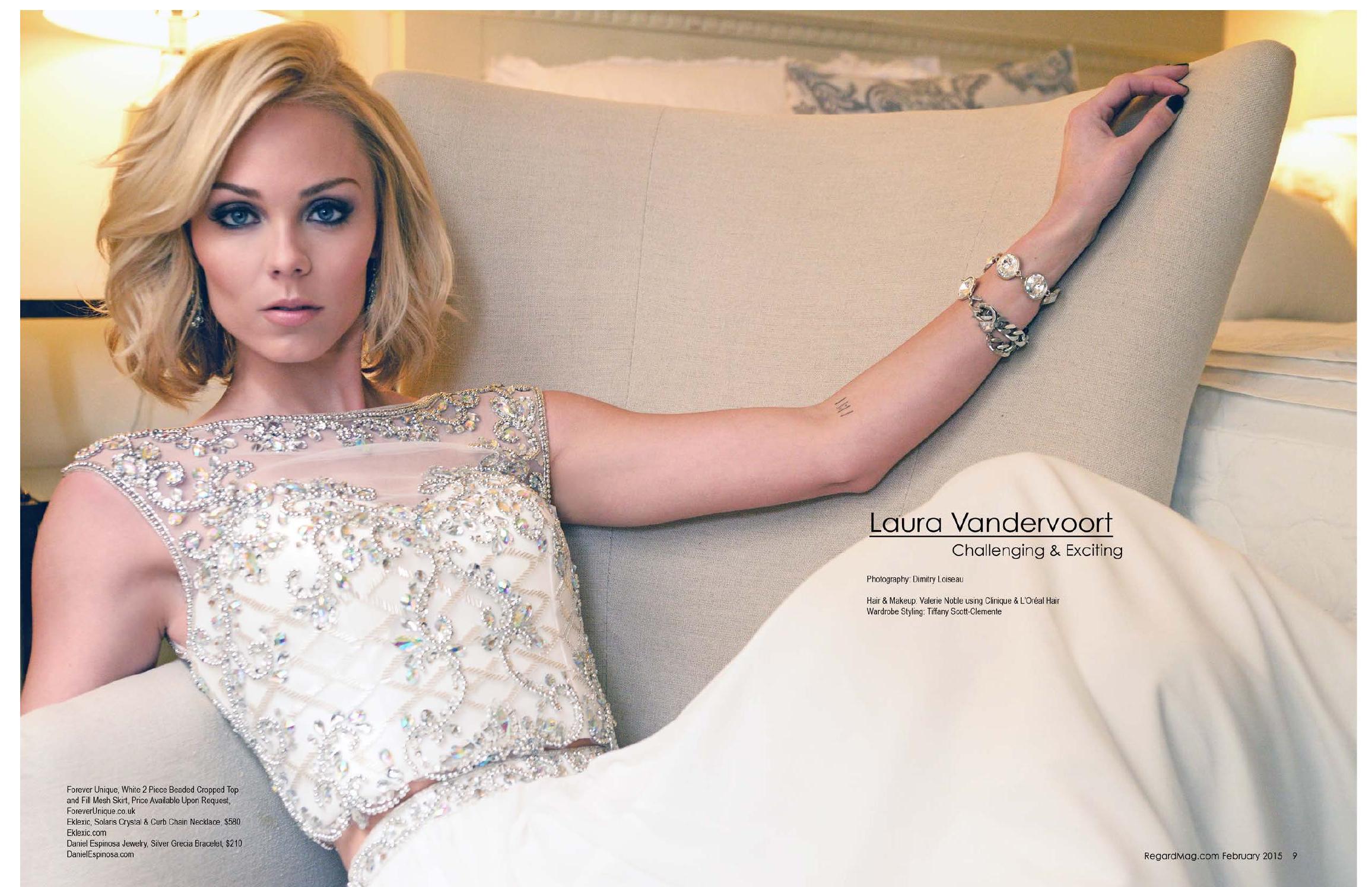 Laura Vandervoort 2015 : Laura Vandervoort: Regard Magazine 2015 -03