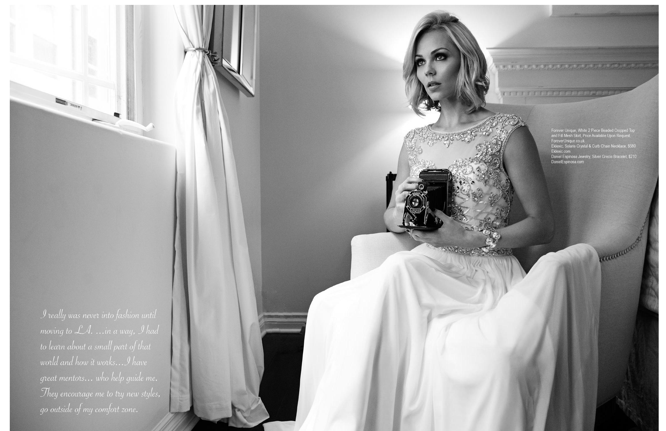 Laura Vandervoort 2015 : Laura Vandervoort: Regard Magazine 2015 -07