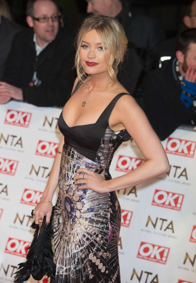 Laura Whitmore - 2015 National Television Awards in London