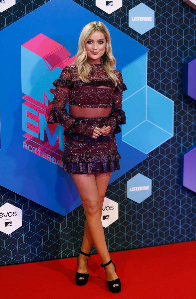 Laura Whitmore – 2016 MTV Europe Music Awards in Rotterdam