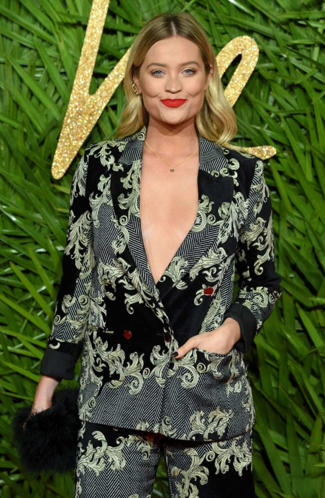 Laura Whitmore – 2017 Fashion Awards in London