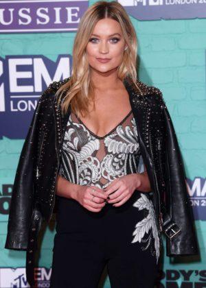 Laura Whitmore - 2017 MTV Europe Music Awards in London