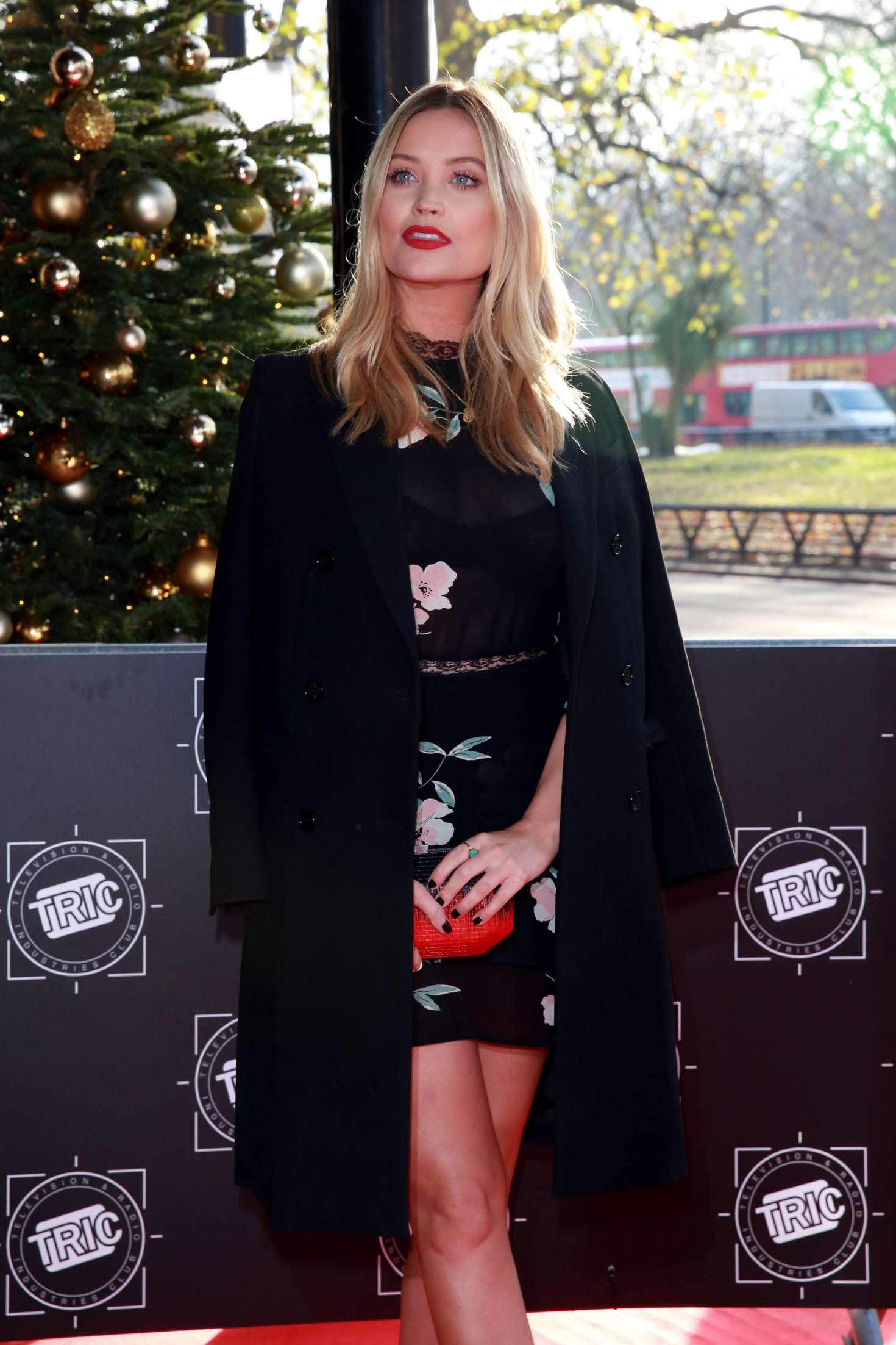Laura Whitmore - 2017 TRIC Awards Christmas Lunch in London