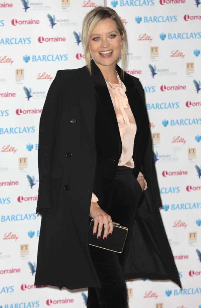 Laura Whitmore - 2018 Women of the Year Lunch and Awards in London