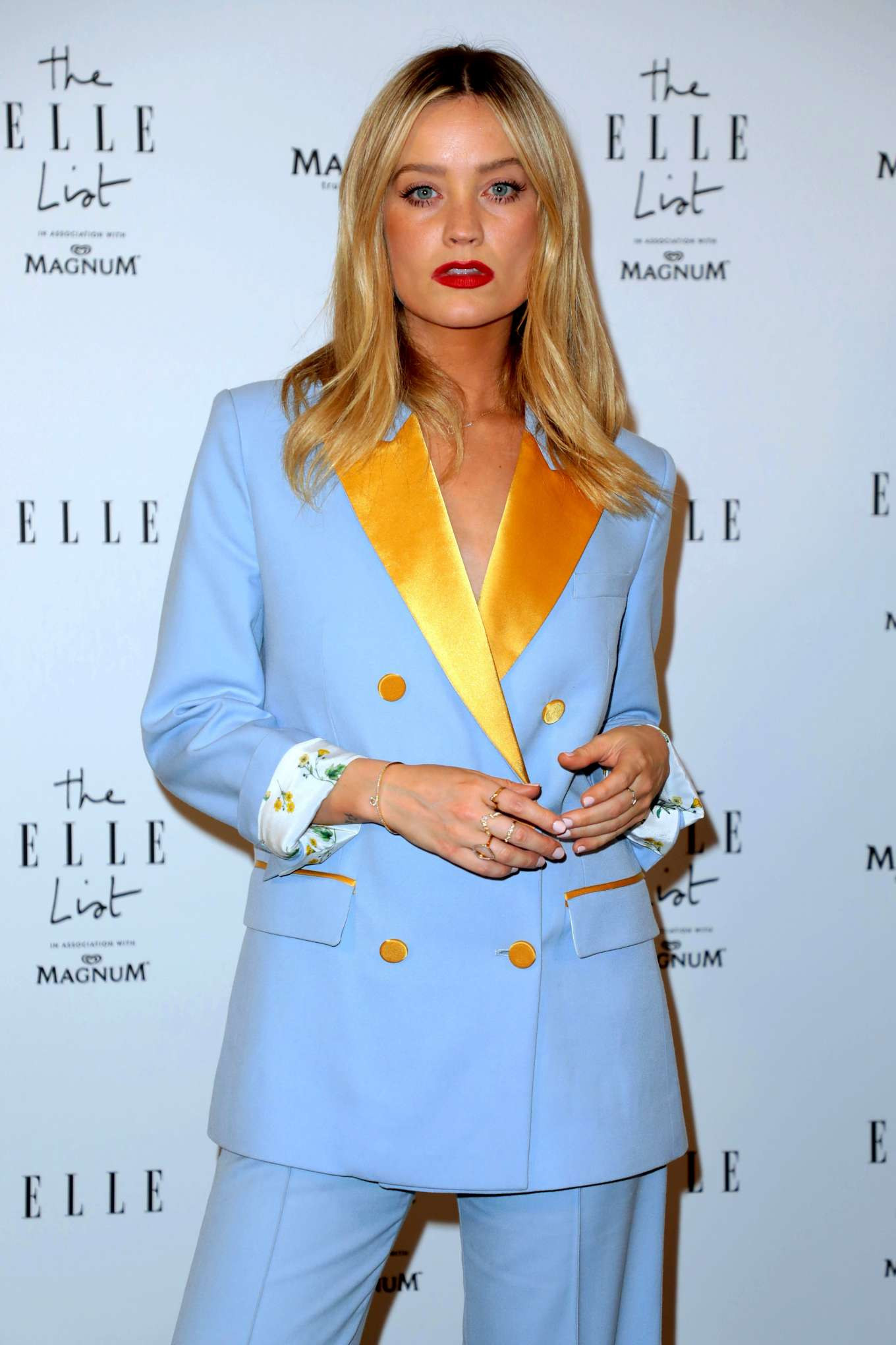 Laura Whitmore - 2019 ELLE List in association with MAGNUM ice cream in London