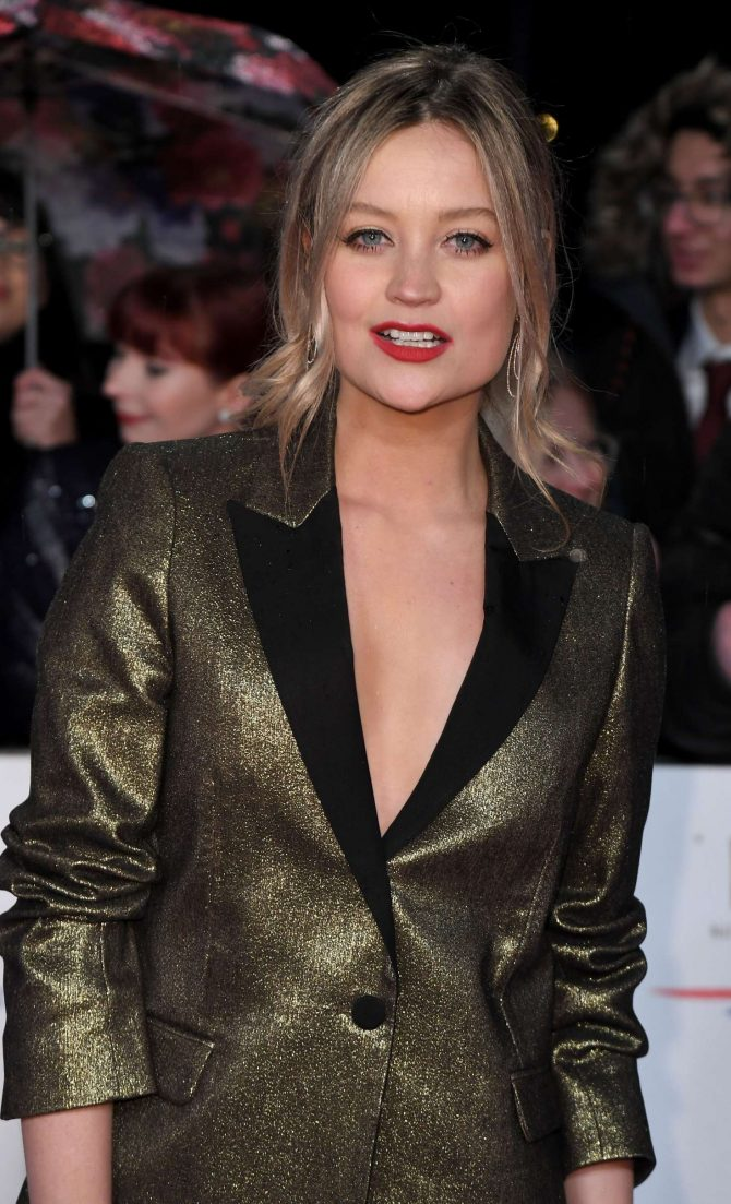Laura Whitmore - 2019 National Television Awards in London