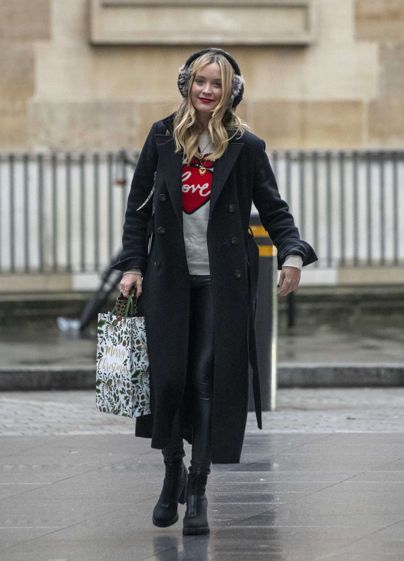 Laura Whitmore 2019 : Laura Whitmore – Arrives at BBC Radio 5 Live show-08