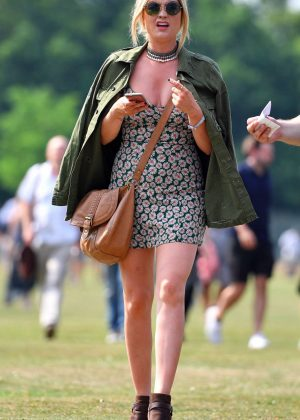 Laura Whitmore - Arrives at House Festival in London