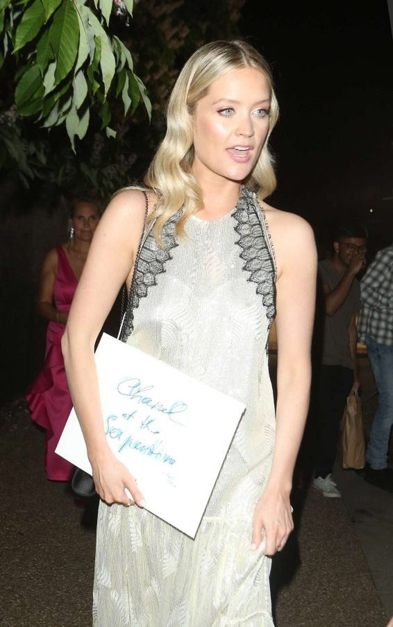 Laura Whitmore - Arrives at Serpentine Gallery Summer Party in London