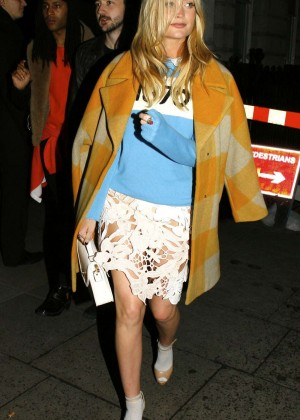 Laura Whitmore - Arrives at The Pretty Green Present Party in London
