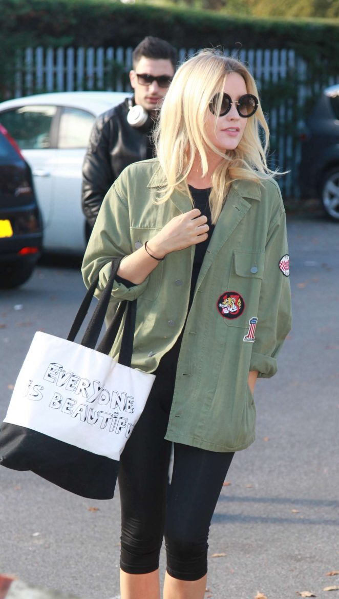 Laura Whitmore - Arrives for Strictly Rehearsal in London