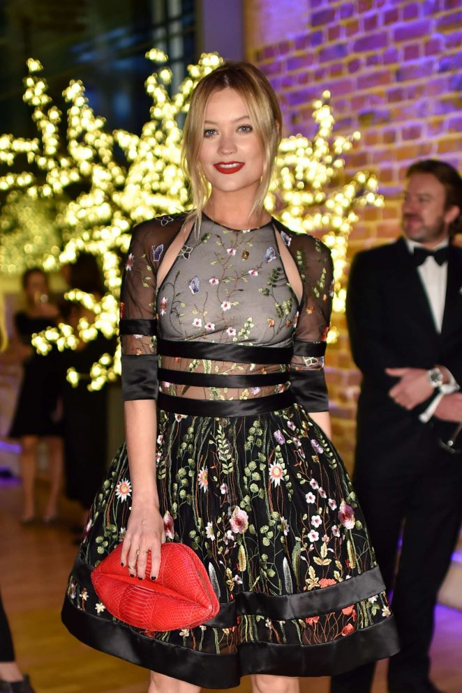 Laura Whitmore - Asian Couture Federation Gala Dinner in London