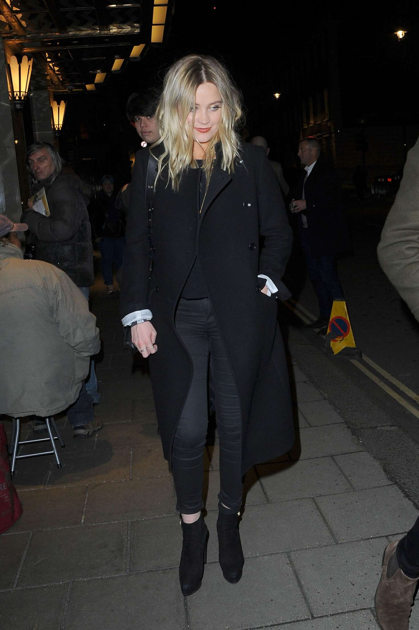 Laura Whitmore at EMA after party in London