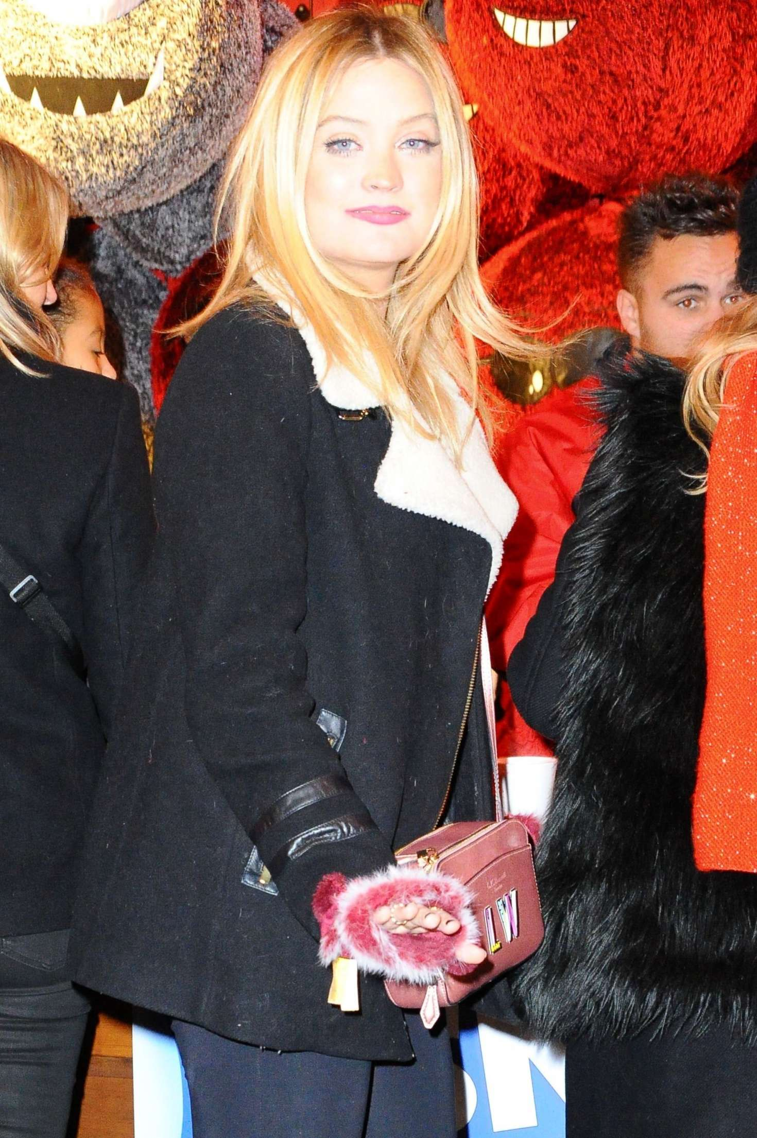 Laura Whitmore at Hyde Park Winter Wonderland in London