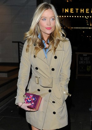 Laura Whitmore at Private Members Club in London