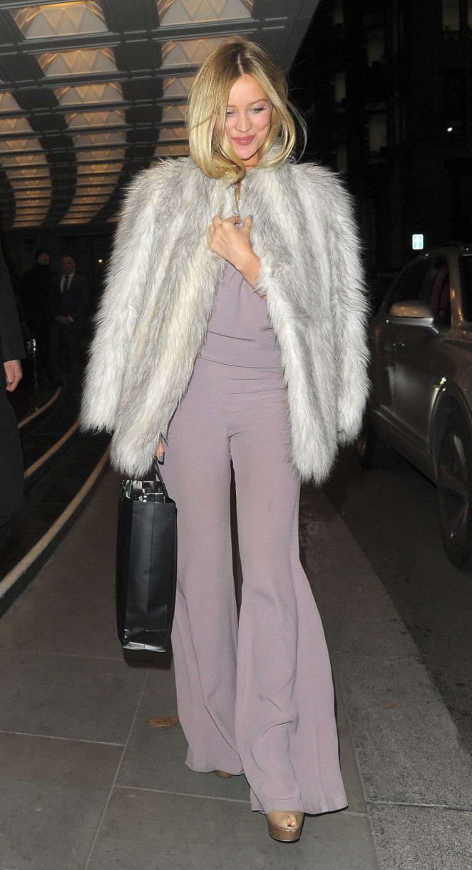 Laura Whitmore at The Dorchester Hotel in London