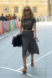 Laura Whitmore - BBC Broadcasting House in London