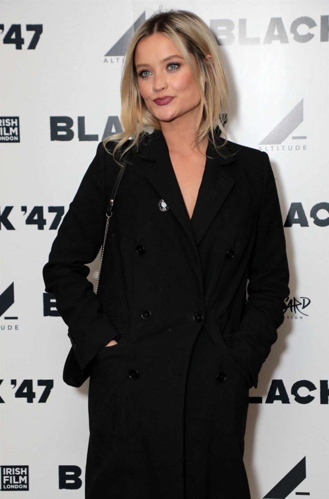 Laura Whitmore - 'Black 47' Screening in London