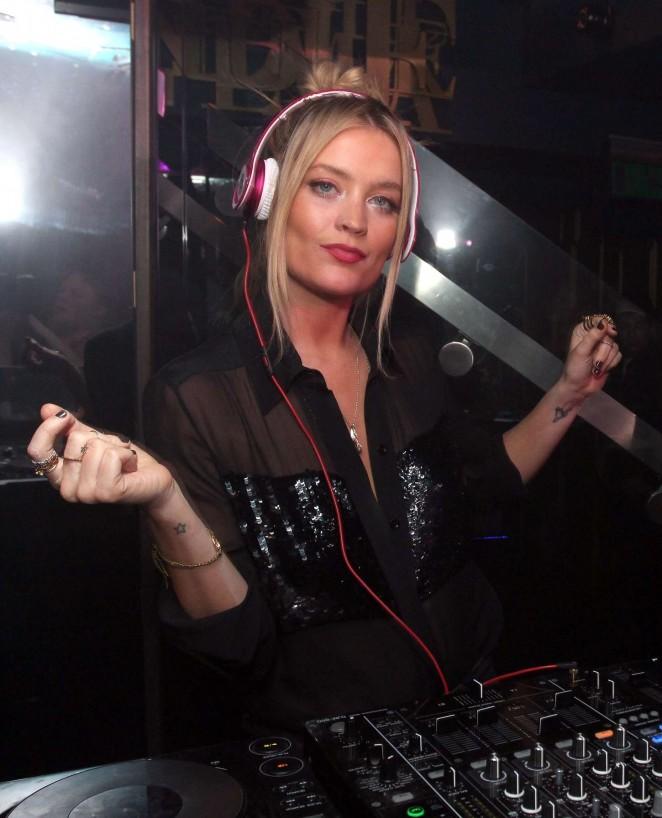 Laura Whitmore - Boujis Nightclub in London
