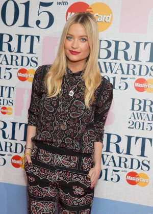 Laura Whitmore: Brit Awards 2015 Nominations -01