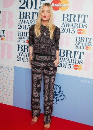 Laura Whitmore: Brit Awards 2015 Nominations -02