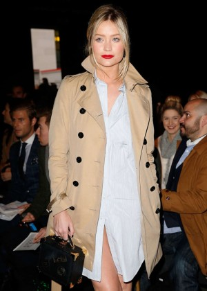 Laura Whitmore - E.Tautz Show at the London Collections: Men AW15