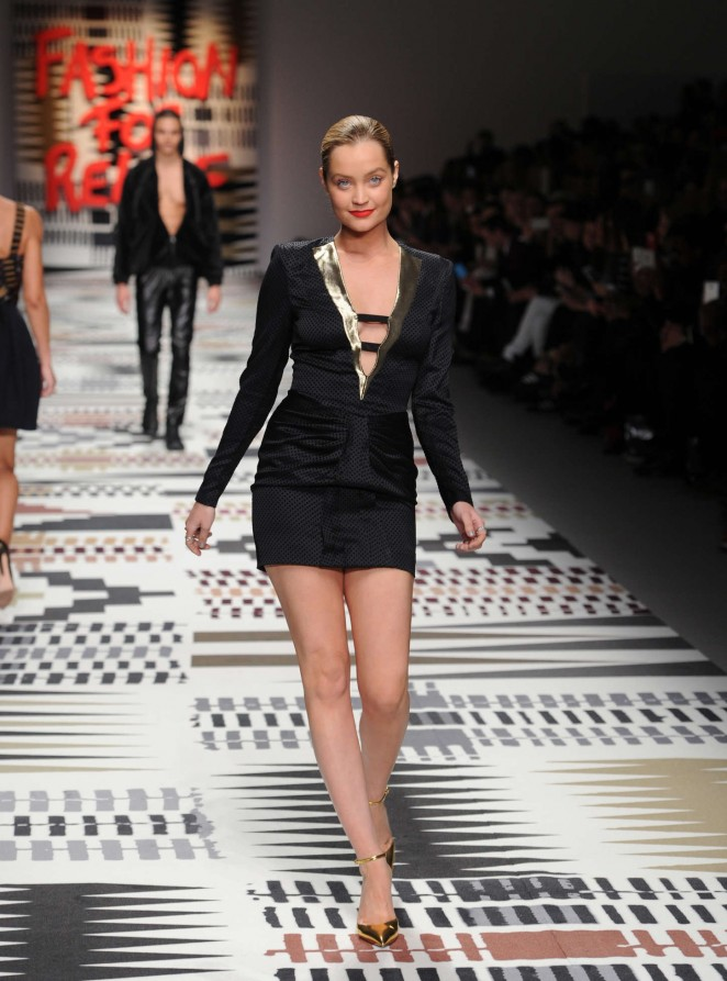 Laura Whitmore: Fashion For Relief Charity Fashion Show 2015 -02