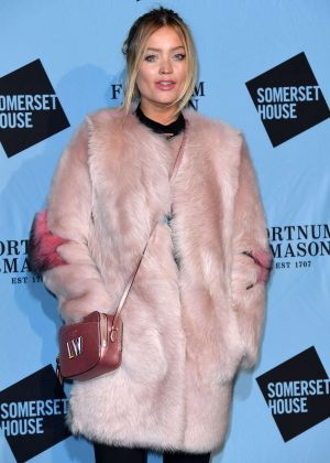 Laura Whitmore - Fortnum and Mason VIP Launch Party in London