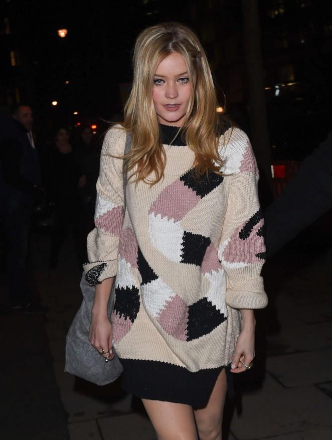Laura Whitmore – Giles Deacon Fashion Show in London