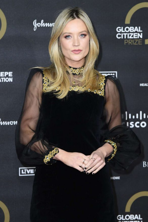 Laura Whitmore - Global Citizen Prize 2019 in London