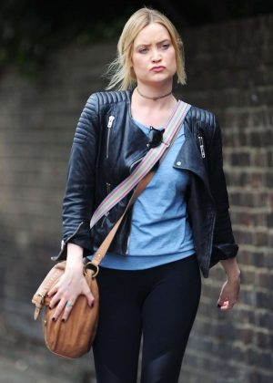 Laura Whitmore in Tights at Strictly come dancing in London