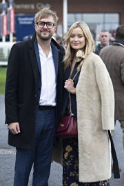 Laura Whitmore - Ladbrokes Winter Carnival in Newbury