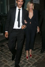 Laura Whitmore - Leaving a private GQ After Party in London