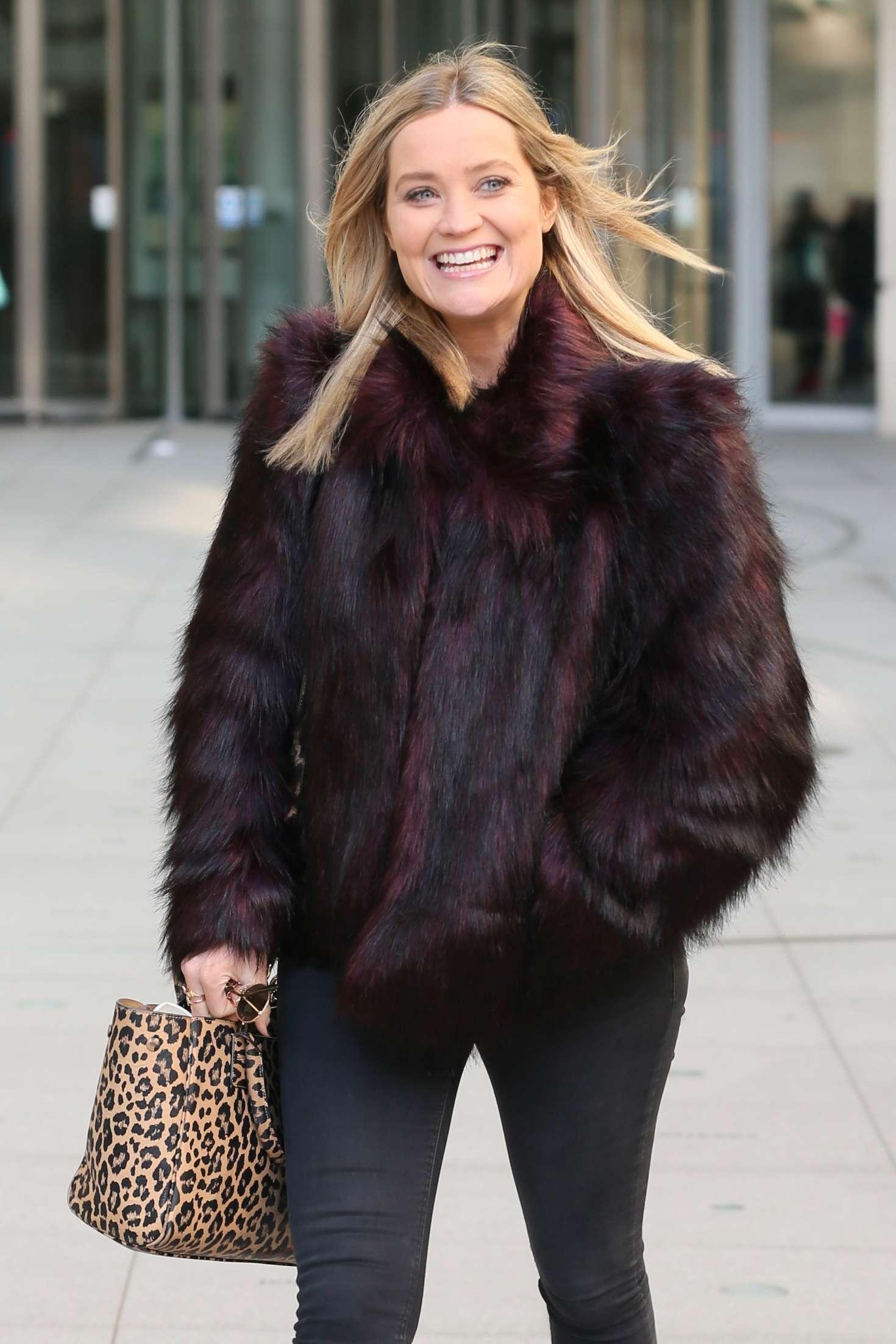 Laura Whitmore - Leaving BBC Studios in London