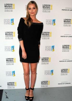 Laura Whitmore - London Music Awards 2015