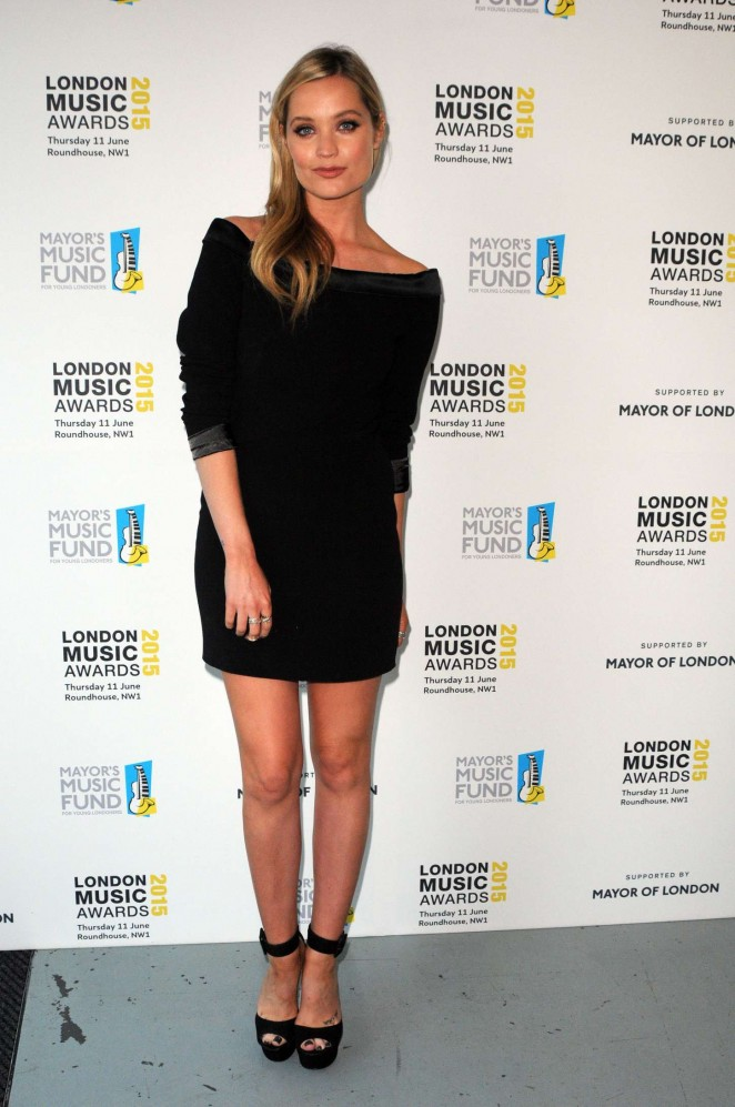 Laura Whitmore - London Music Awards 2015