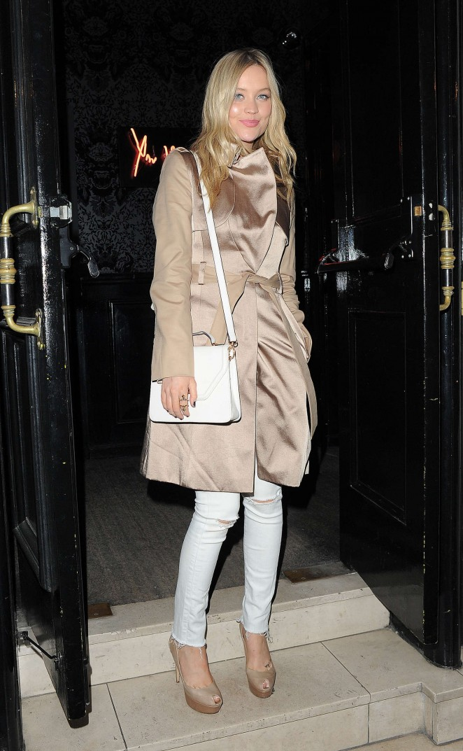 Laura Whitmore - Millie Mackintosh SS15 Collection Dinner in London