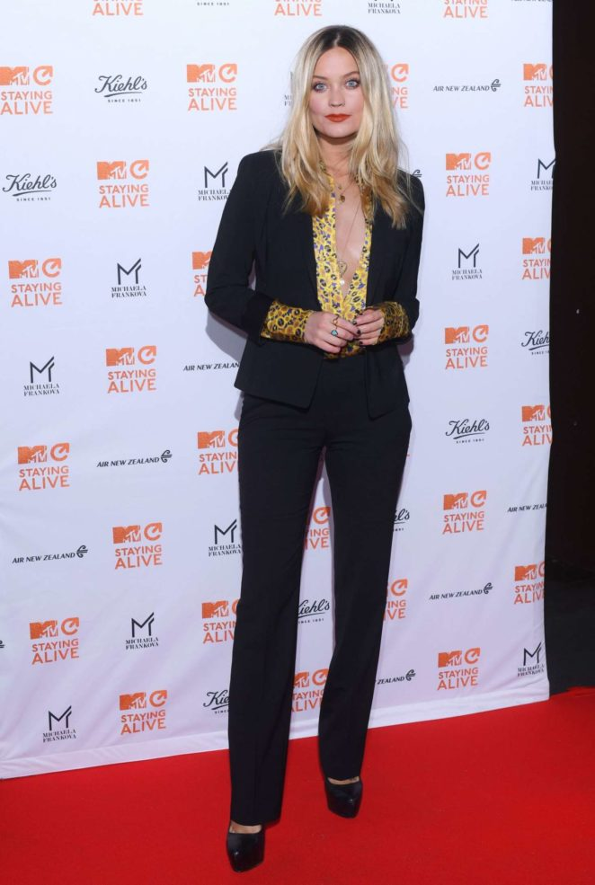Laura Whitmore: MTV Staying Alive Gala -01