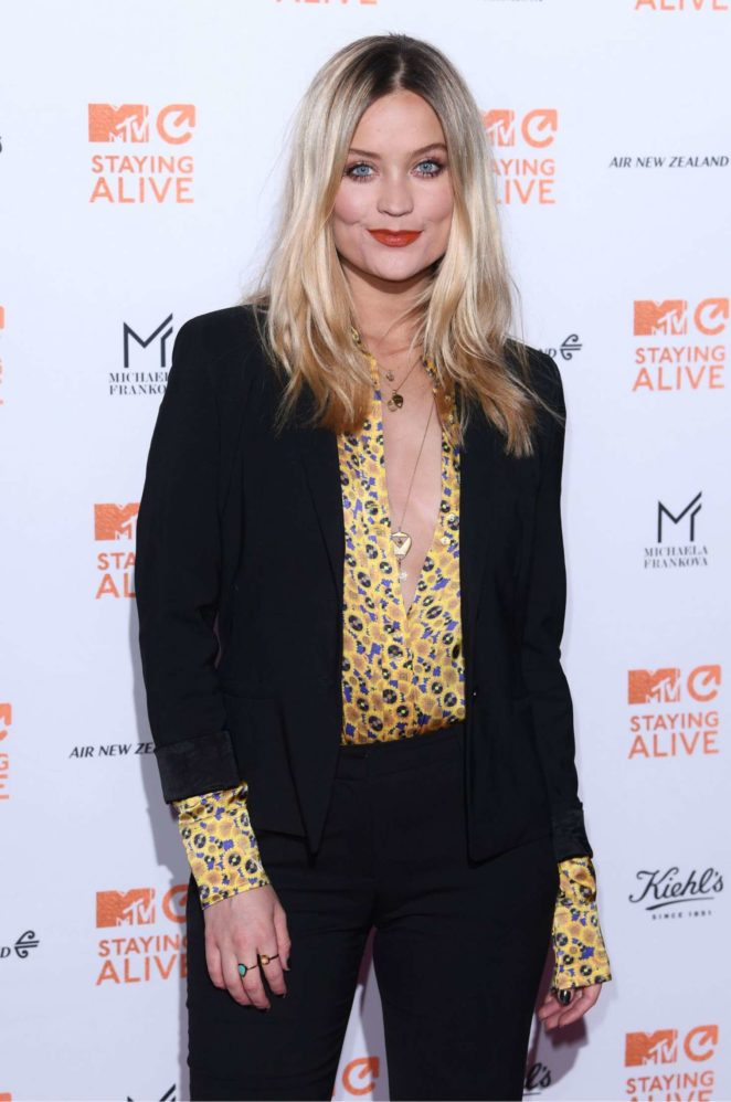 Laura Whitmore - MTV Staying Alive Gala in London