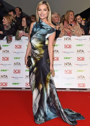 Laura Whitmore - National Television Awards 2016 in London